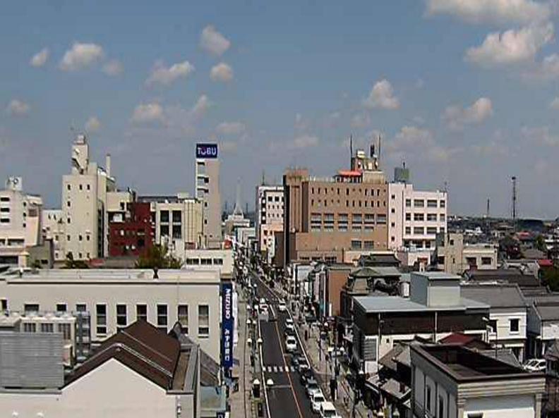 とちぎ蔵の街大通りライブカメラ(栃木県栃木市倭町)