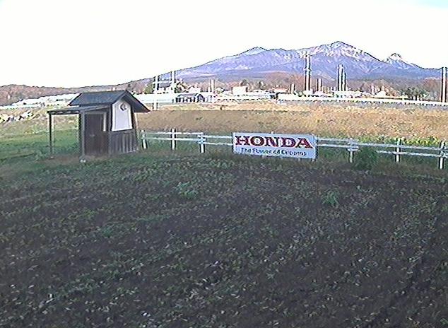 八ヶ岳Honda菜園から八ヶ岳