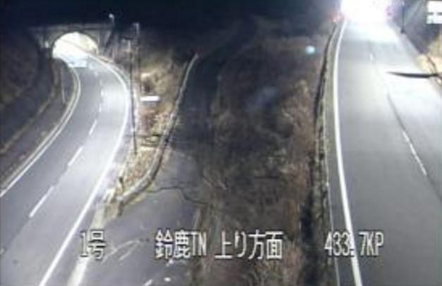 国道1号鈴鹿トンネル