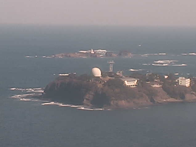 三島灯台から三島沿岸海域
