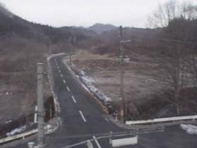 上戸沢付近から国道105号