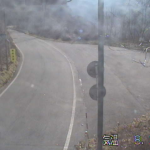 国道340号押角峠ライブカメラ(岩手県岩泉町大川)