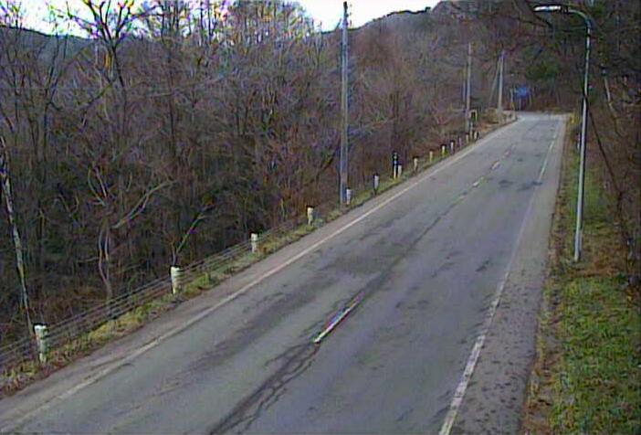 大峠から国道340号(九戸から葛巻方面)
