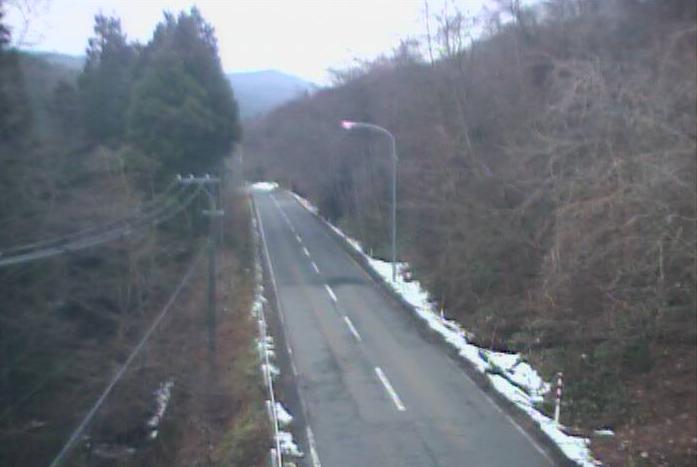 越路峠から岩手県道10号江刺室根線(江刺から大東方面)