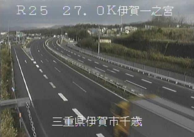 伊賀一之宮インターチェンジから名阪国道(国道25号バイパス)