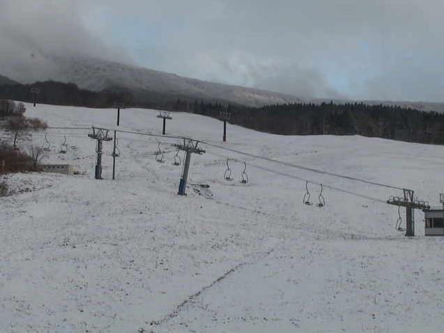 たざわ湖スキー場ゲレンデ