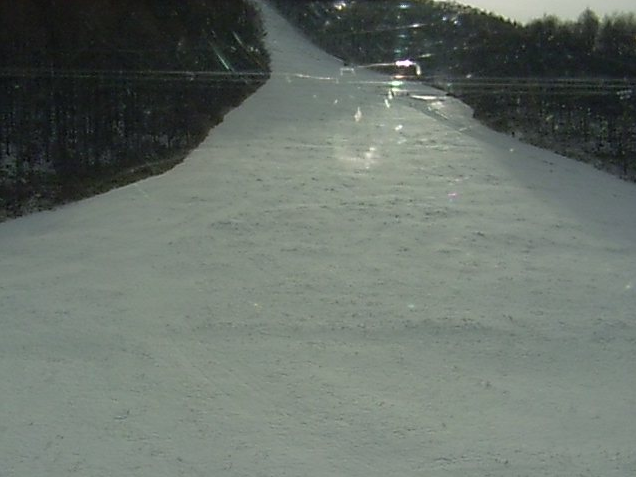会津高原たかつえスキー場からゲレンデ