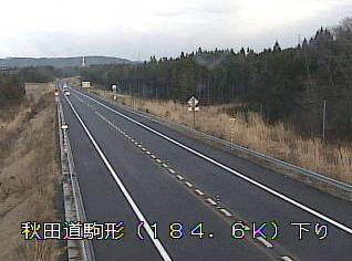 駒形から秋田自動車道(秋田道)