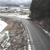 国道13号上台ライブカメラ(山形県金山町上台)