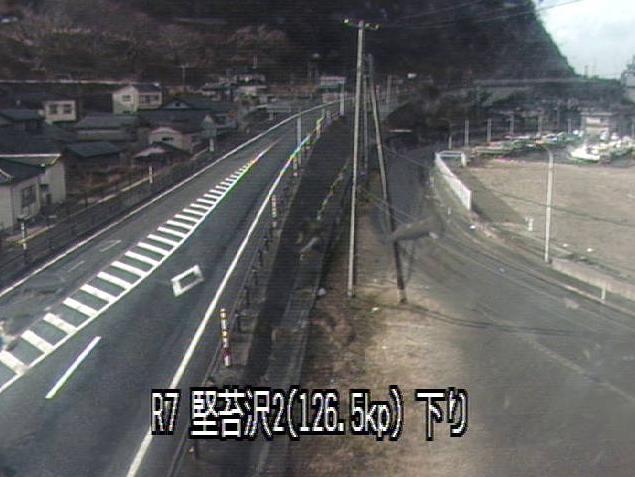 国道7号堅苔沢