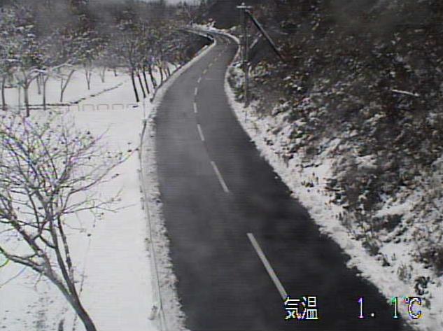 国道282号碇ヶ関遠部沢