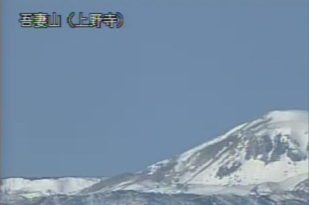 上野寺から吾妻山