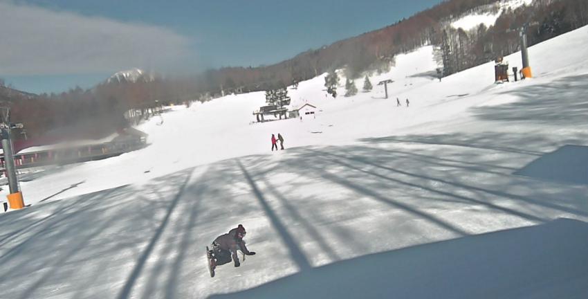 丸沼高原スキー場バイオレットコース