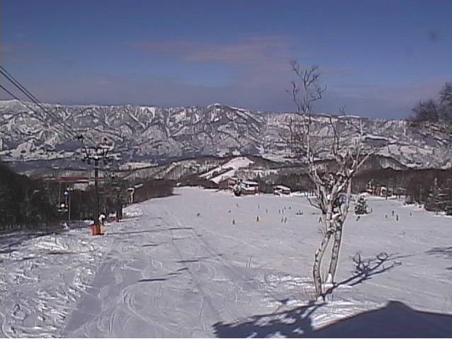 野沢温泉スキー場パラダイスゲレンデ