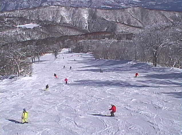 野沢温泉スキー場やまびこゲレンデ