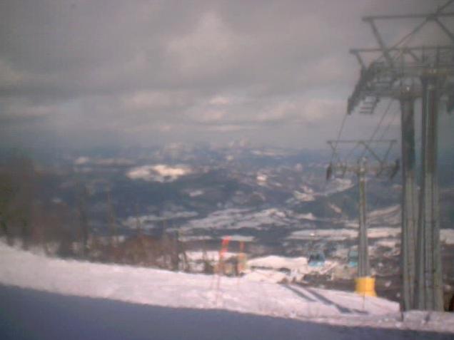 安比高原スキー場山頂