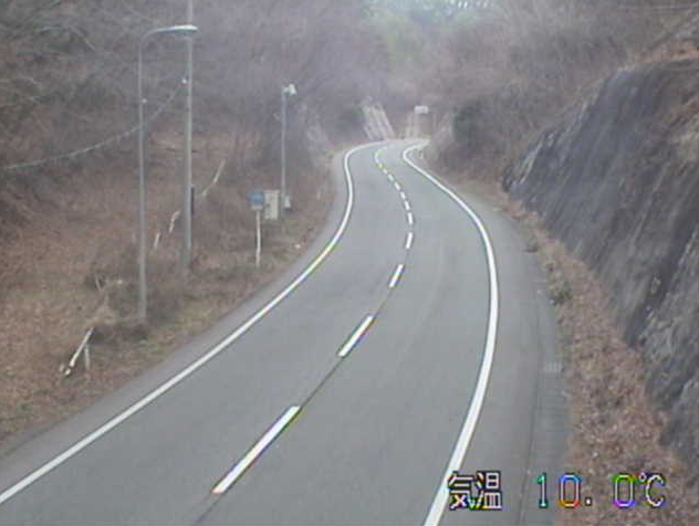 正法寺から国道343号(水沢から東山方面)