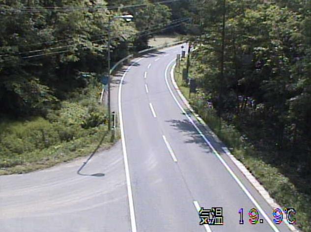 赤石峠から国道395号(軽米から大野方面)が見えるライブカメラ。