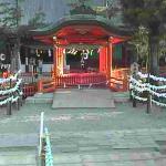 UCV生島足島神社御神橋ライブカメラ(長野県上田市下之郷)