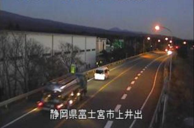 国道139号上井出インターチェンジ