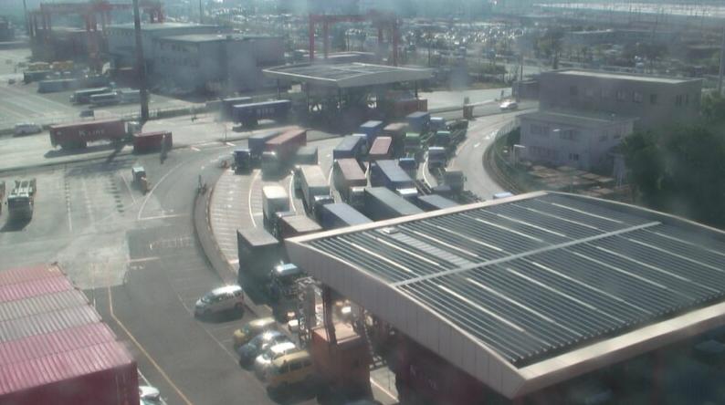 大井コンテナターミナルからインゲート・アウトゲート