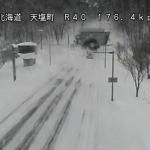 国道40号雄信内トンネルライブカメラ(北海道天塩町オヌプナイ)