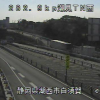 国道1号潮見トンネル西ライブカメラ(静岡県湖西市白須賀)