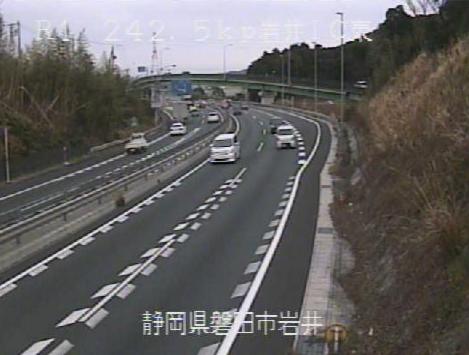 国道1号磐田バイパス岩井インターチェンジ東