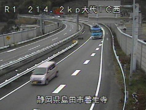 国道1号島田金谷バイパス大代インターチェンジ