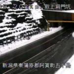 国道49号取上洞門ライブカメラ(新潟県阿賀町取上)