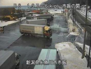 国道8号道の駅越後市振の関