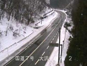 国道7号大沢