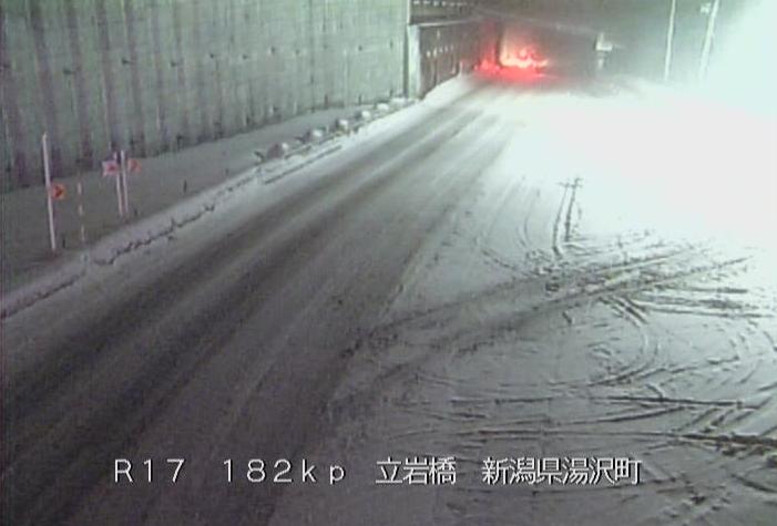国道17号三国トンネル新潟側