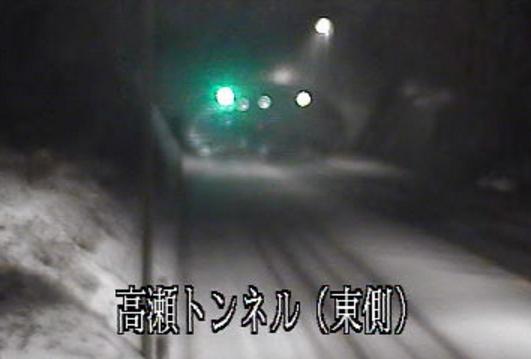 栃木県道宇都宮那須烏山線高瀬トンネル東側