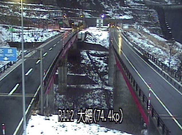 大網川橋から国道112号