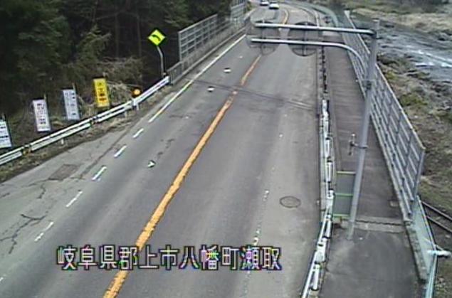 国道156号大瀬子跨線橋