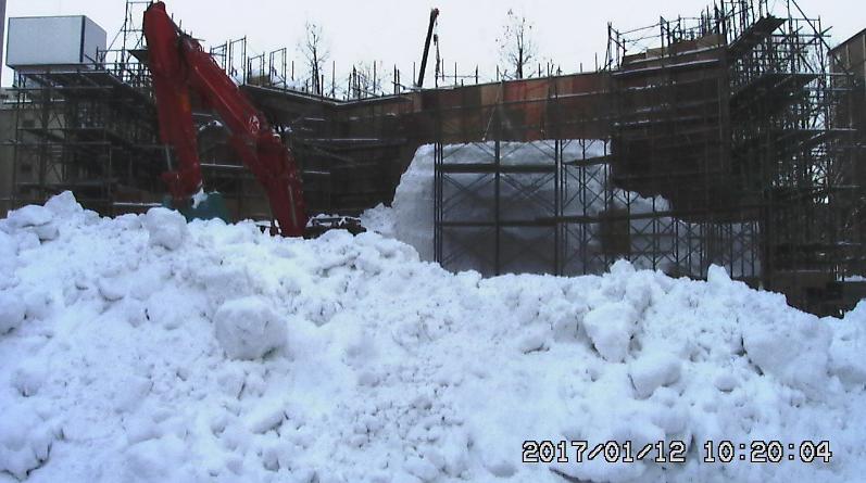 2017さっぽろ雪まつり雪のファイナルファンタジー雪像ライブカメラ(北海道札幌市中央区)