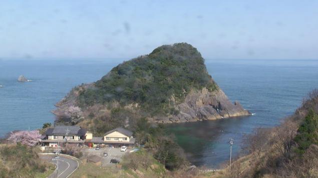 国民宿舎ファミリーイン今子浦から黒石島・白石島・御崎・桜