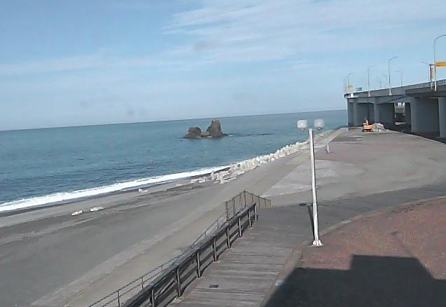 親不知海岸投げ岩