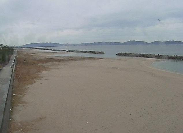 新開地区皆生海岸