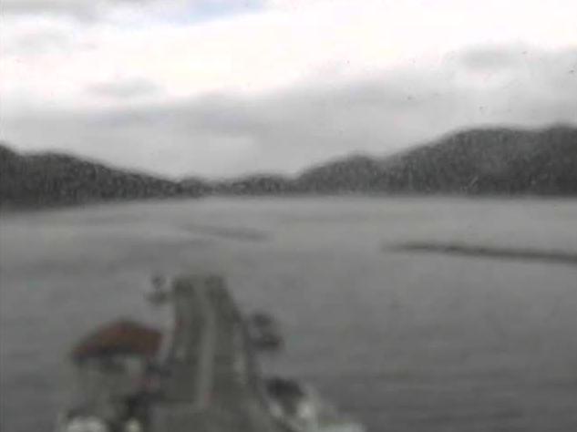 三浦船隠漁港から宇和海