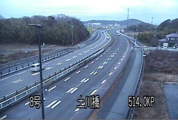 国道8号土川橋