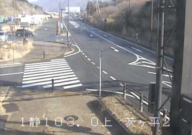 国道1号箱根峠2合目茨ケ平