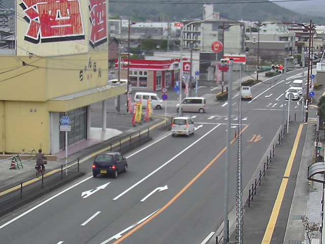 大分県道205号臼杵坂ノ市線新地交差点