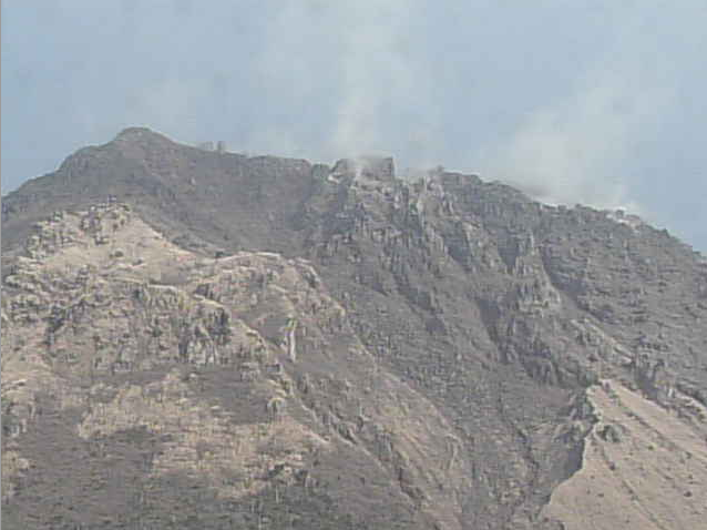 岩床山から赤松谷川上流域土石流発生源・溶岩ドーム