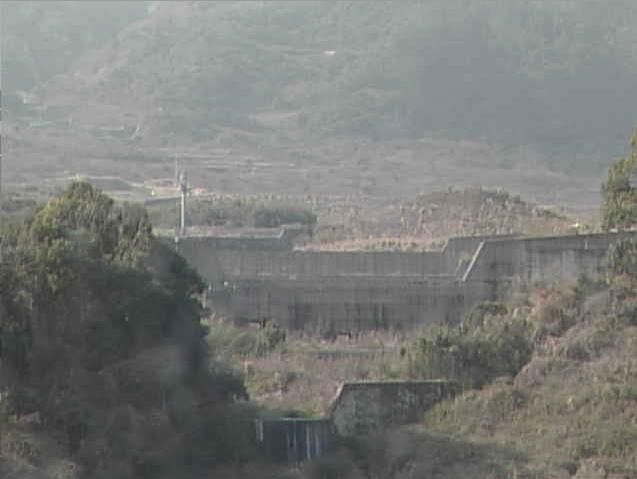中尾川4号嵩上ダムから千本木1号砂防ダム