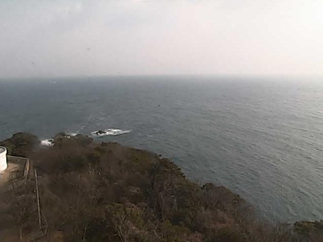 美保関灯台から地蔵崎・美保湾・日本海