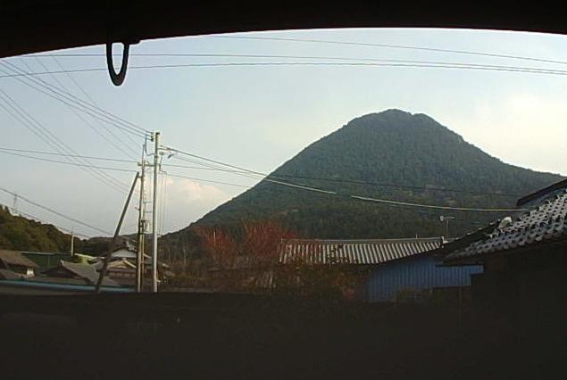 苺屋はなから近江富士(三上山)