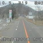 国道19号木戸橋ライブカメラ(長野県安曇野市明科)