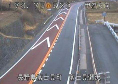 国道20号富士見瀬沢